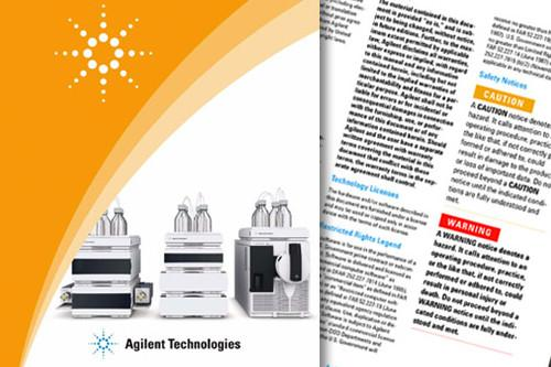 Referenzhandbuch <br /><span class='kunde'> Agilent Technologies