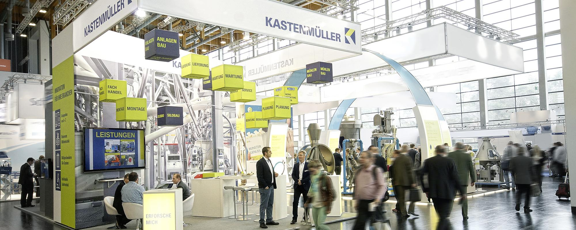 Kastenmüller Messestand von KE-COMMUNICATION
